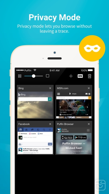 تصاویر Puffin Cloud Browser