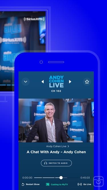 تصاویر SiriusXM-Music, Comedy, Sports