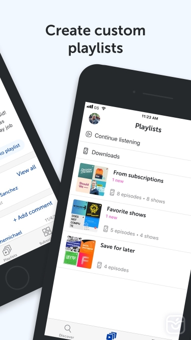 تصاویر Breaker—The social podcast app