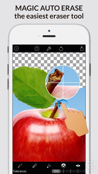 تصاویر  ++ Magic Eraser Background Editor
