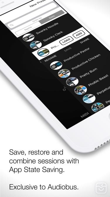 تصاویر Audiobus: Mixer for music apps