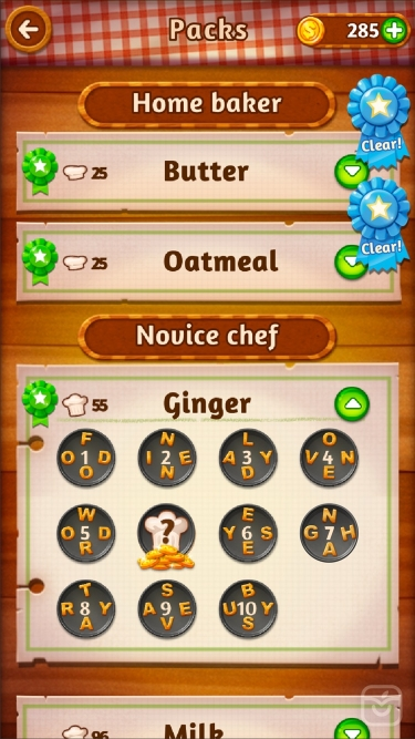 تصاویر Word Cookies