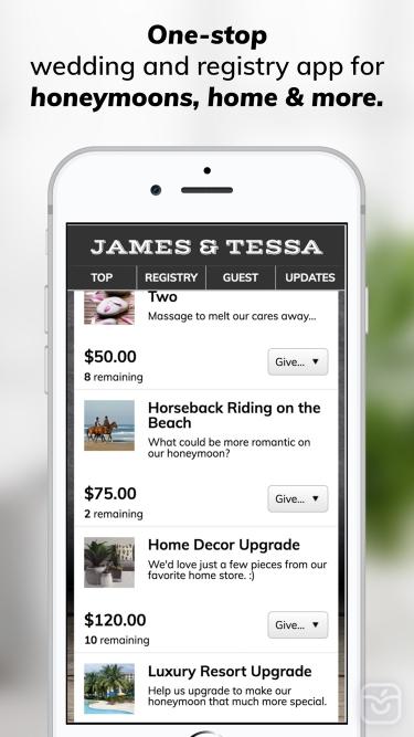 تصاویر Honeyfund Wedding Registry