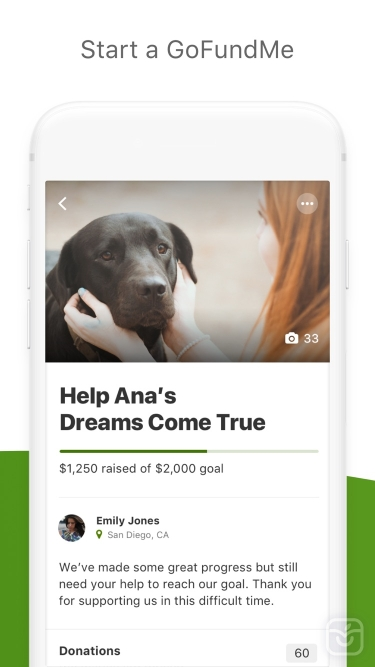 تصاویر GoFundMe - Online Fundraising