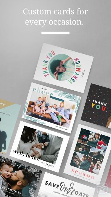 تصاویر Greetings: Custom Photo Cards
