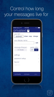 Privatext - Private Text App