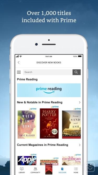 تصاویر Amazon Kindle