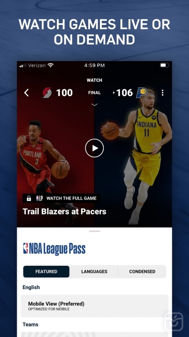 تصاویر NBA: Live Games & Scores