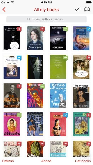 تصاویر Marvin Classic - eBook reader for epub