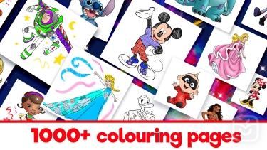 تصاویر Disney Colouring World| دنیای رنگ امیزی دیزنی