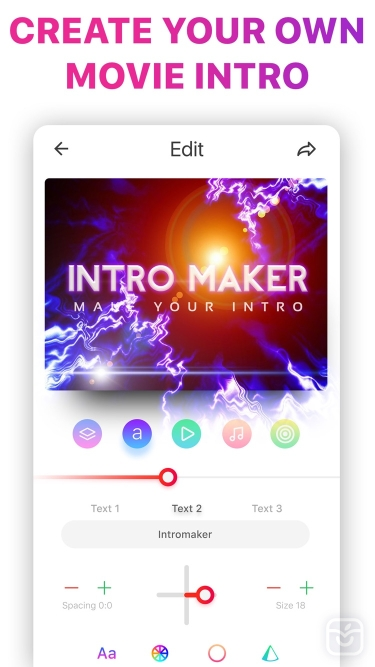 تصاویر Intro Music Video, Movie Maker