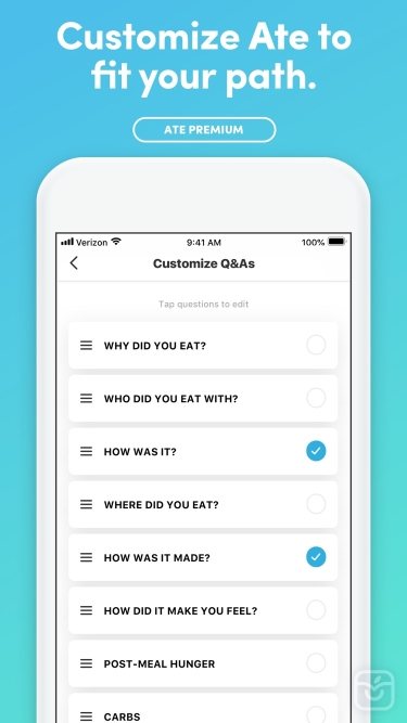 تصاویر Ate Food Diary: mindful eating