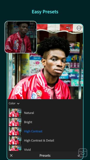 تصاویر Adobe Lightroom Photo Editor|ادوبی فتوشاپ