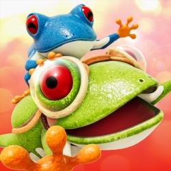 لوگو Frogger in Toy Town