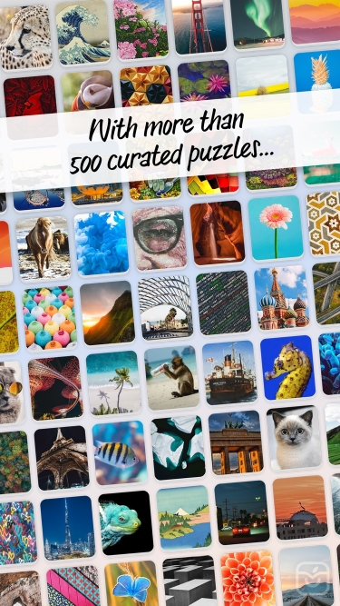 تصاویر Pictominoes: Jigsaw Puzzles