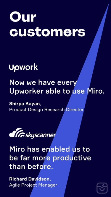 تصاویر Miro: collaborative whiteboard