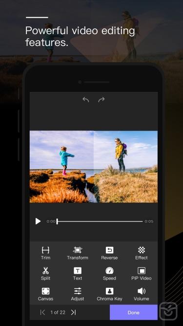 تصاویر Perfect Video Editor, Collage