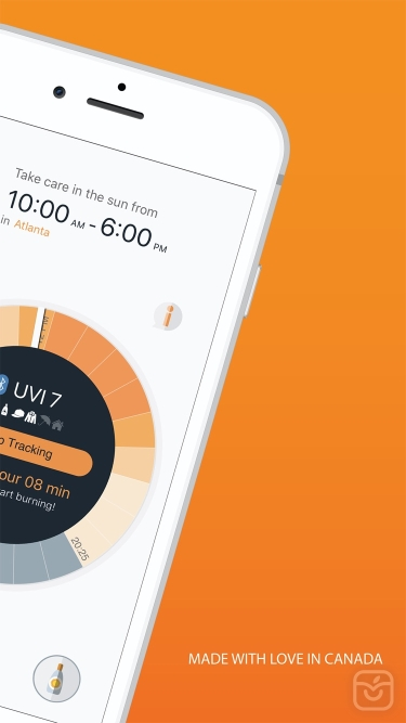 تصاویر QSun - Vitamin D & UV Tracker