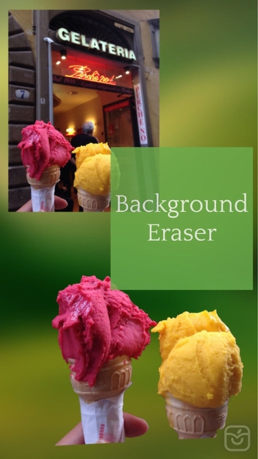 تصاویر Background Eraser: superimpose