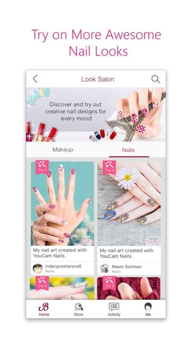 تصاویر YouCam Nails - Manicure Salon