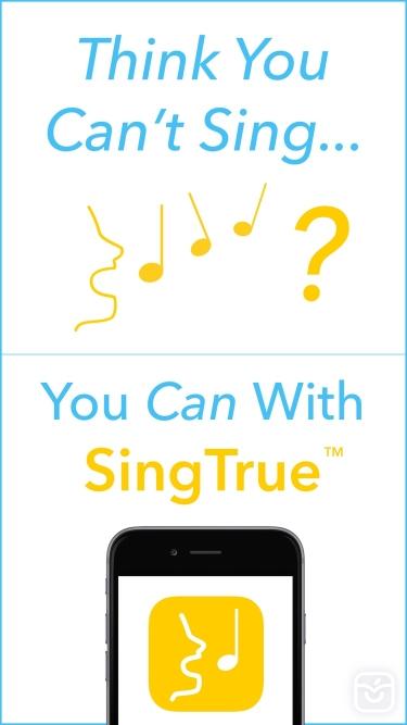 تصاویر SingTrue: Learn to sing in tune, pitch perfect