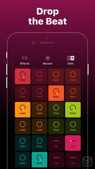 تصاویر Groovepad - Music & Beat Maker