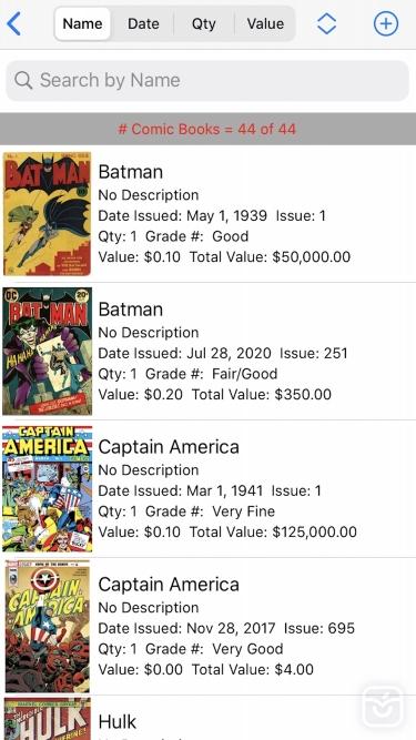 تصاویر My Valuable Comic Books