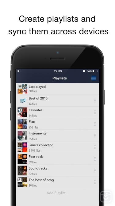 تصاویر CloudBeats: music player