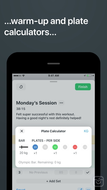 تصاویر Strong Workout Tracker Gym Log