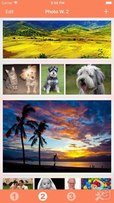 تصاویر Photo Widget
