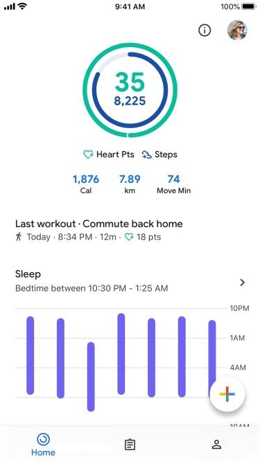 تصاویر Google Fit – Activity Tracker