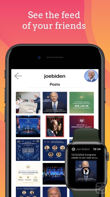 تصاویر WatchApp for Instagram App