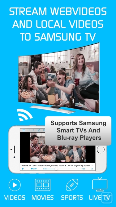 تصاویر Video & TV Cast + Samsung TV