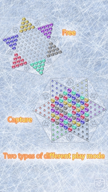 تصاویر Realistic Chinese Checkers