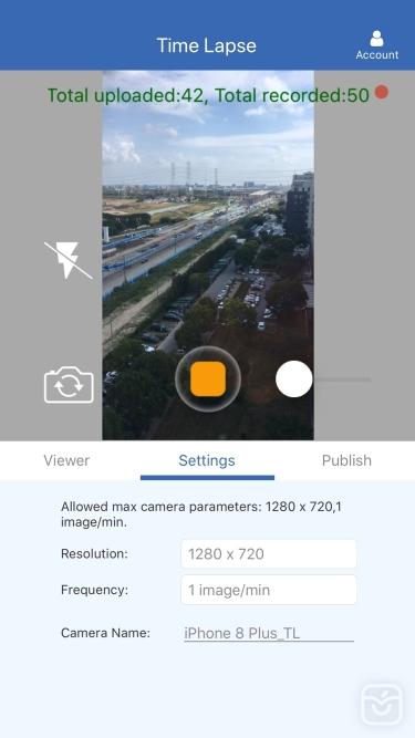 تصاویر CameraFTP Time Lapse