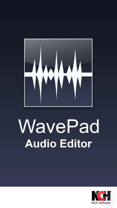 تصاویر WavePad Master's Edition