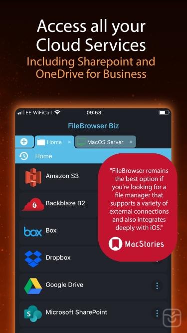 تصاویر FileBrowser for Business