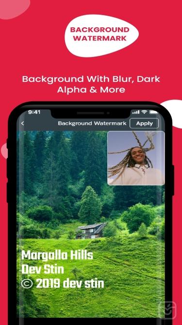 تصاویر Add Watermark – Photo & Video