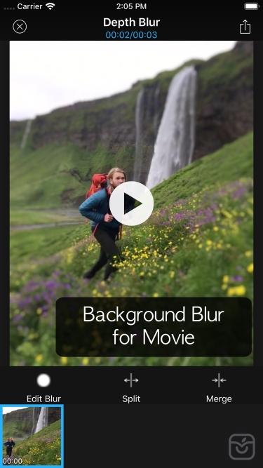 تصاویر Depth Blur - Manual Portrait