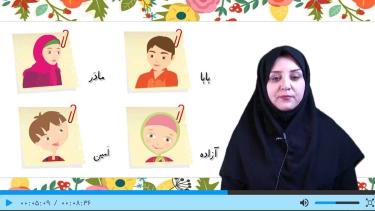 تصاویر آموزش فارسی اول دبستان