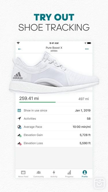 تصاویر adidas Running App Runtastic