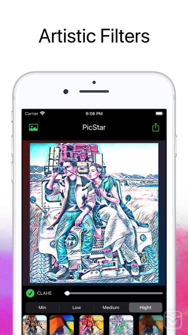 تصاویر PicStar Art Filters