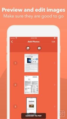 Photos PDF : Scanner Converter