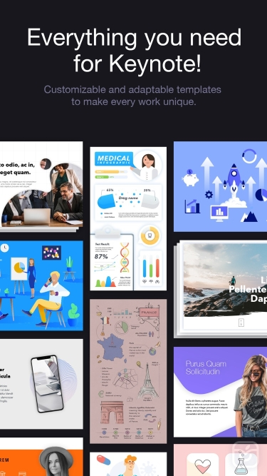 تصاویر Toolbox for Keynote