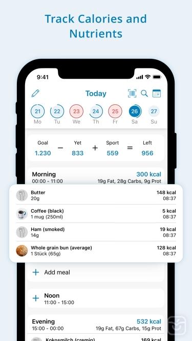 تصاویر FDDB Extender - Diet Tracker
