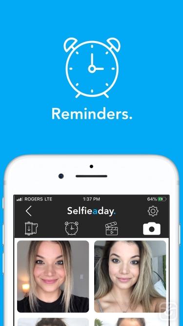 تصاویر Selfie A Day - Photo Journal