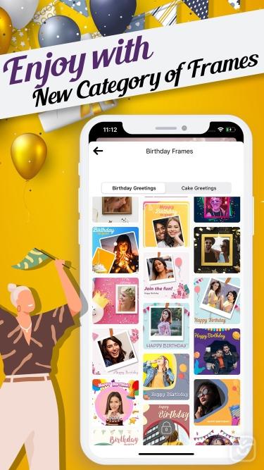 تصاویر Happy Birthday Video Maker