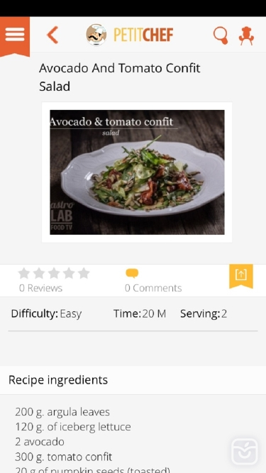 تصاویر Petitchef: recipes and cooking