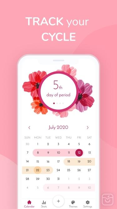 تصاویر My Calendar - Period Tracker