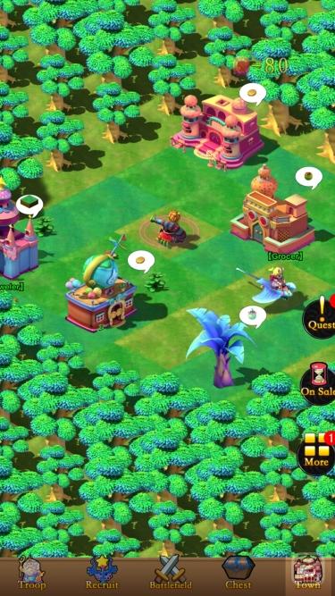 تصاویر Angel Town 8- idle game